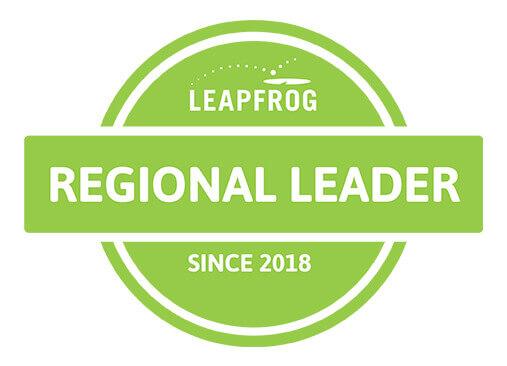 leapfrog regional leader 2018